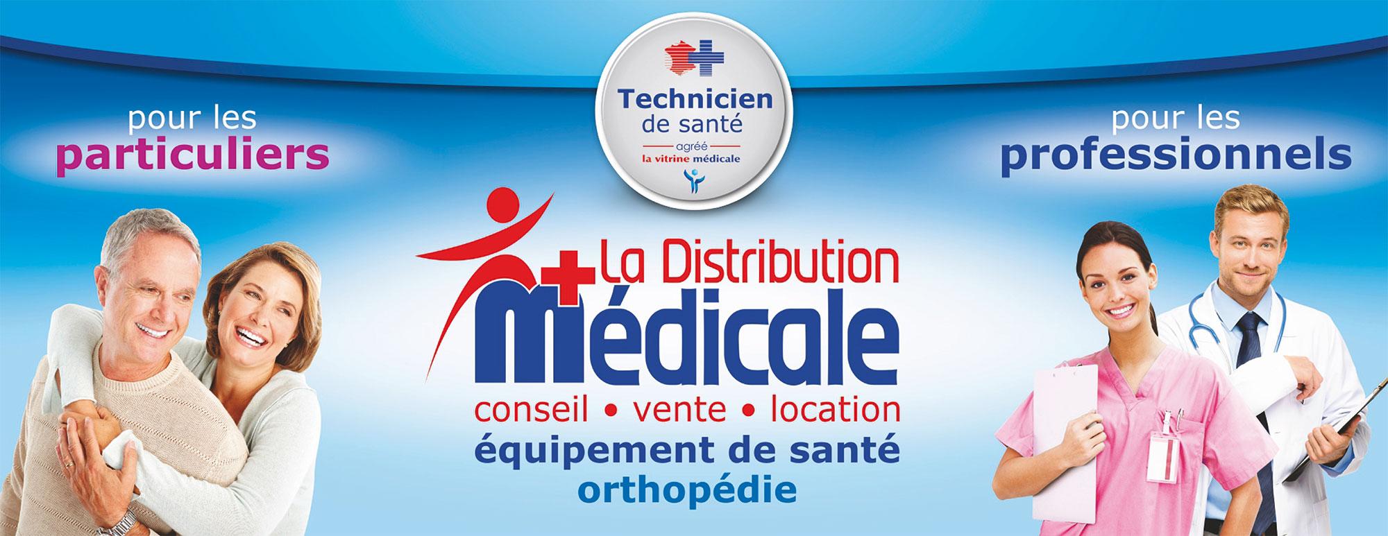 la distribution médicale